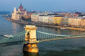 Budapest - Danube Architecture