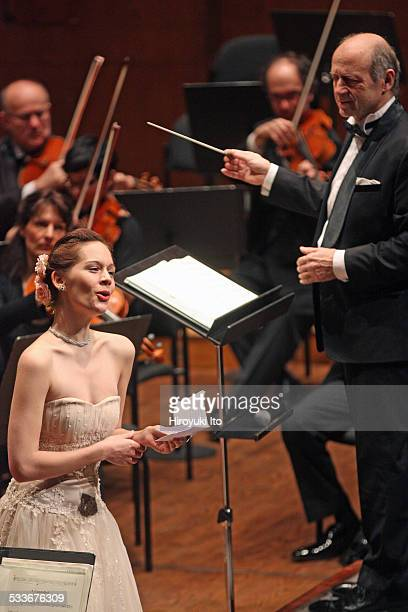 Budapest Festival Orchestra performing at Avery Fisher Hall on Sunday afternoon January 18 2015This imageAnna Lucia Richter performing Fanny...