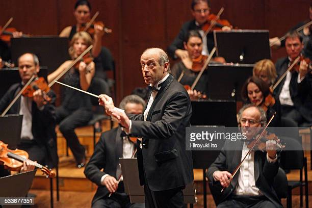 Budapest Festival Orchestra performing at Avery Fisher Hall on Sunday afternoon January 18 2015This imageIvan Fischer leading the Budapest Festival...