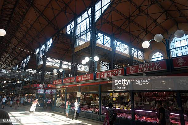 Budapest, Hungary. Central Market.