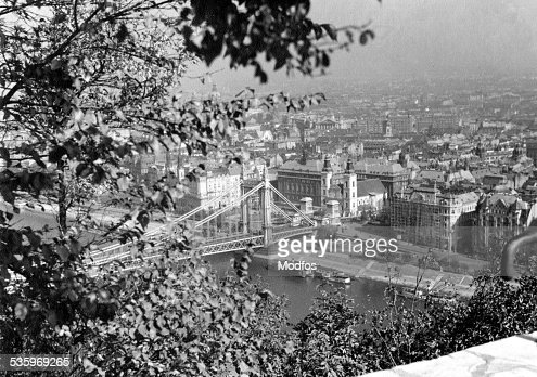 Budapest Hungry in 1941 : Stock Photo