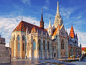 Budapest -  Mathias Church at day