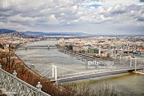 Budapest seen from Gellert Hill