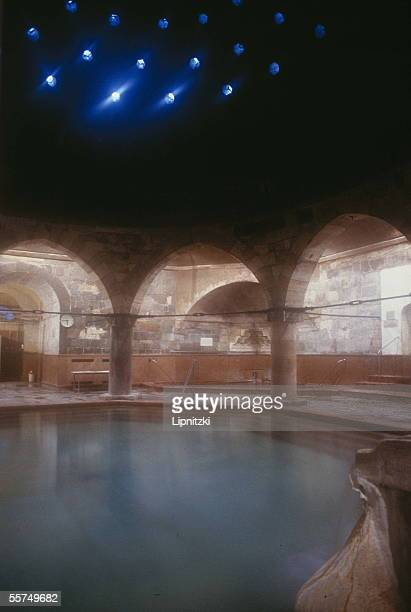 Budapest The old Turkish baths of the Rudas thermal baths
