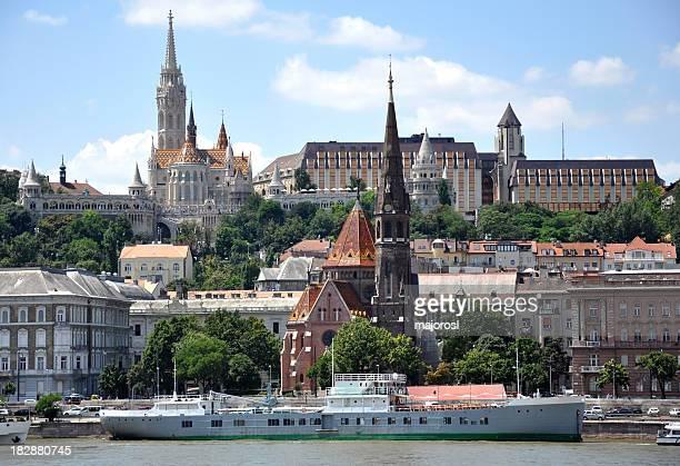 Budapest's skyline on a sunny day, Hungary