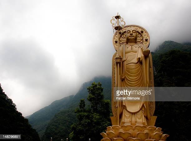 Buddha at Changchun Shrine