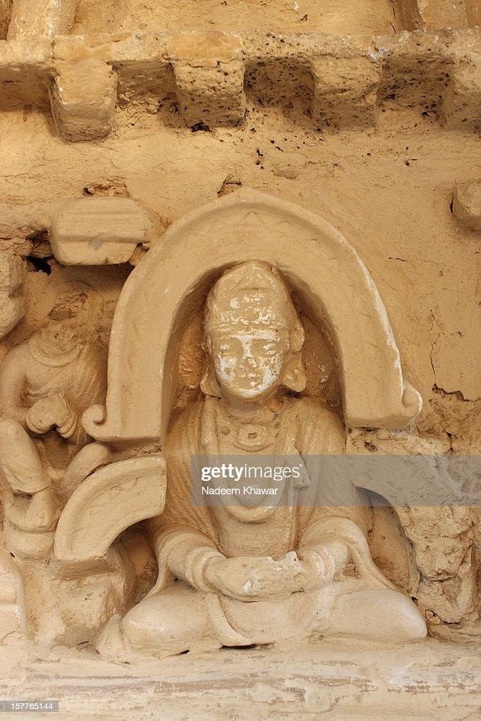 Buddha at Jaulian, Taxila  Pakistan