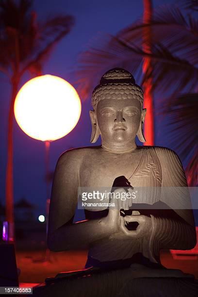 Buddha at night