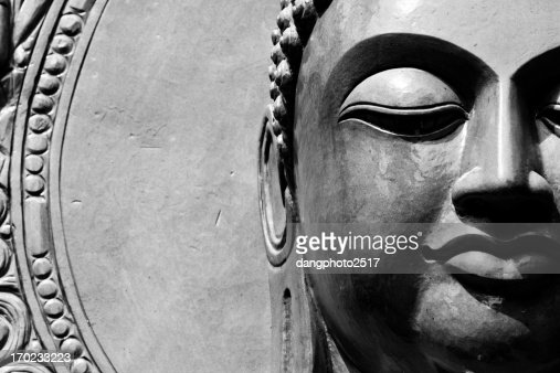 Buddha close up portrait : Stock Photo