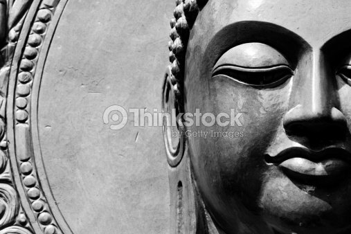 Buddha close up portrait : Stock Photo