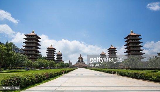 Buddha Memorial Center in Fo Guang Shan,Kaohsiung,Taiwan,China : Stock Photo