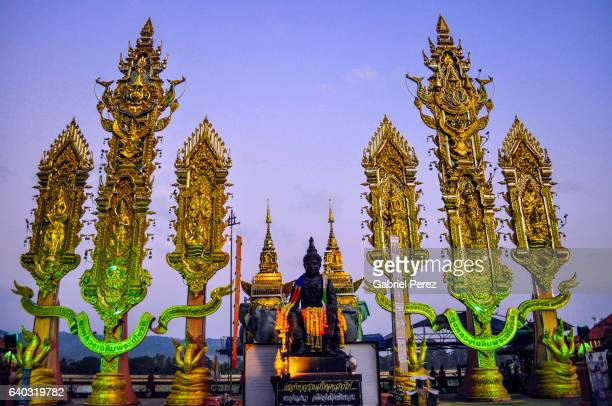 Buddha Monuments in the Golden Triangle of Southeast Asia