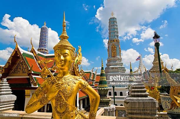 sculpture de Bouddha Grand Palais, en Thaïlande