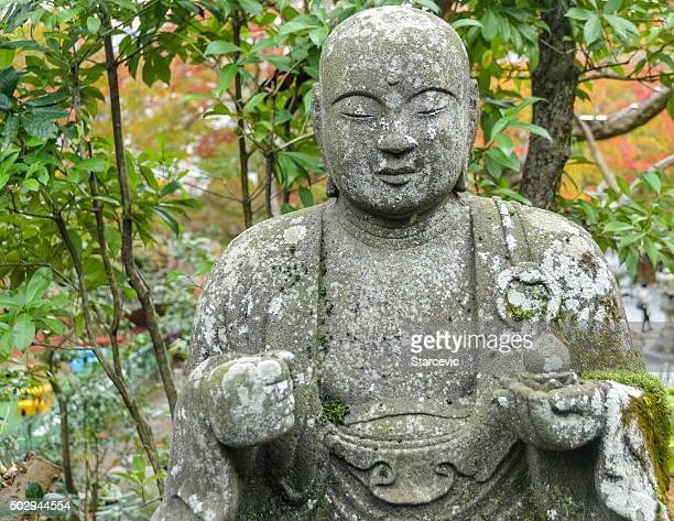 Buddha Statue at Eikando Temple in Kyoto, Japan