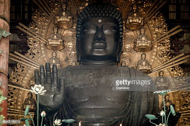 Buddha statue at Todaiji Temple in Japan