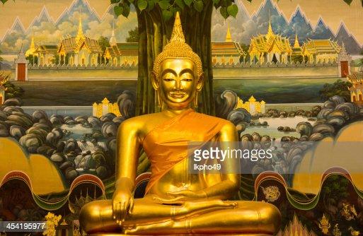 Estatua de buda : Foto de stock
