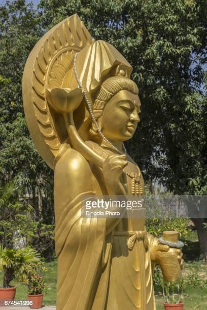 Buddha statue, sarnath, uttar pradesh, india, asia