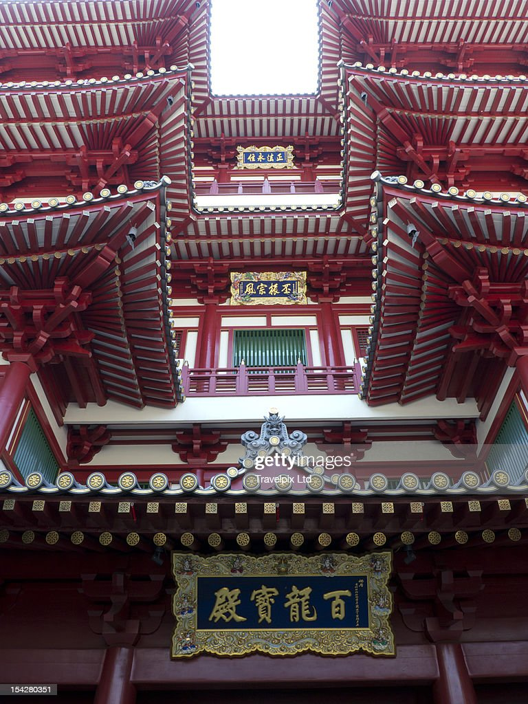 Buddha Tooth Relic Temple, Singapore, Asia : Stock Photo