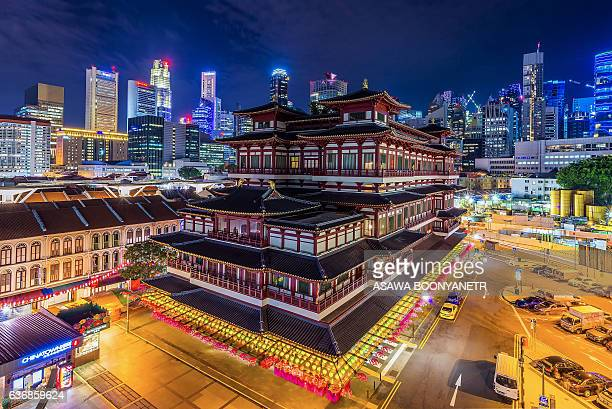Buddha Tooth Relic Temple.and tourism