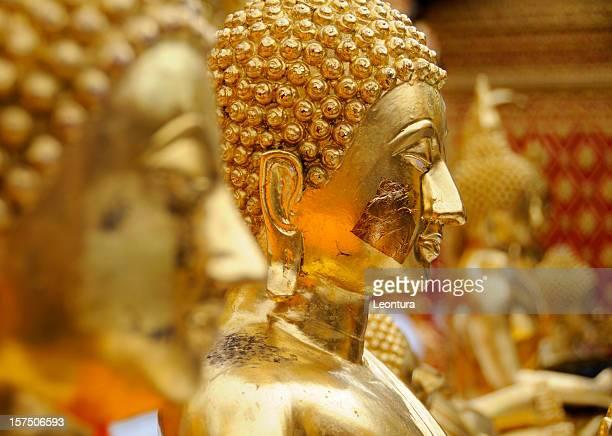 Buddha With Gold Leaf