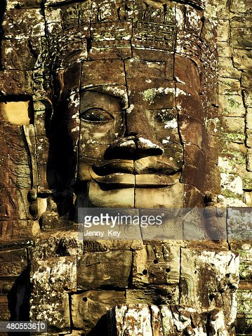 Buddha's face : Stock Photo