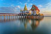 Buddhist chapel in the sea