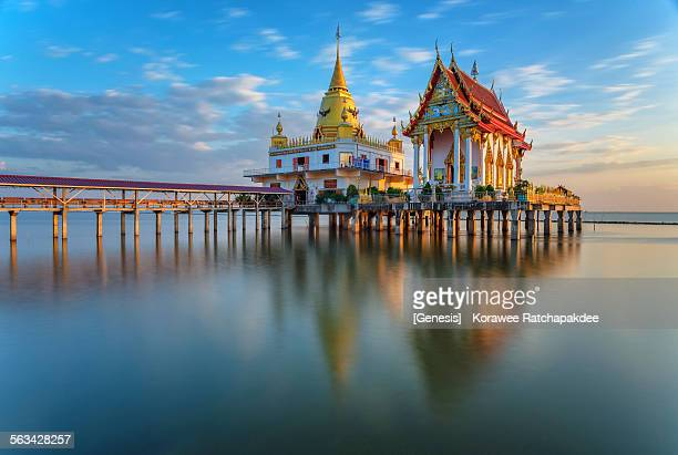 Buddhist chapel in the sea