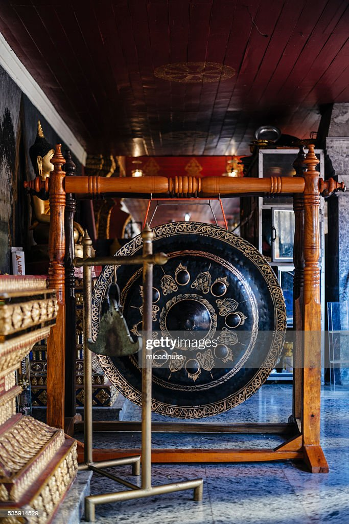 Monges Gong : Foto de stock