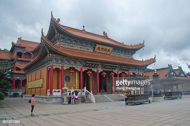 CONTENT] Buddhist Jintai Temple in Huangyang Mountain Zhuhai China