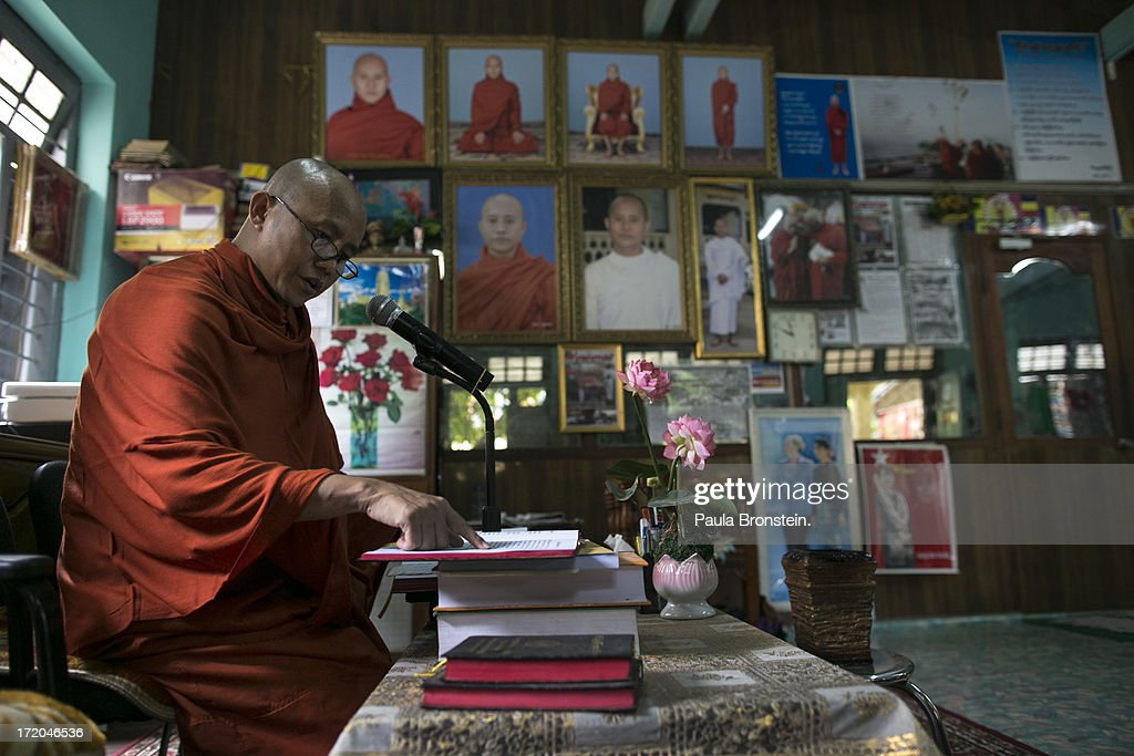 Radical Burmese Monk Wirathu And His Monastery Getty Images