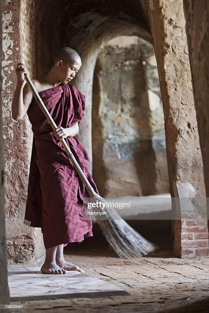 Buddhist monk : Stock Photo
