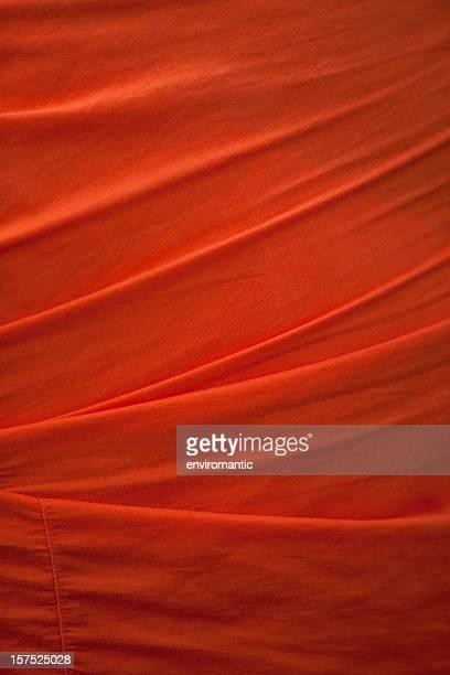 Buddhist monk's saffron robe background.