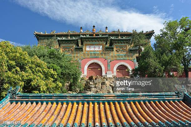Buddhist Temple in Summer Palace