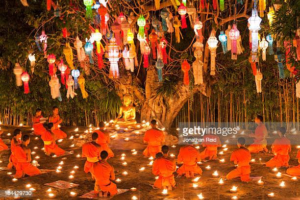 CONTENT] Buddhists in Chiang Mai celebrate the New Year with a unique interesting celebration
