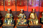 Buddism statues in Hong Kong
