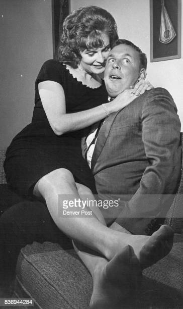 Buddy Alan's younger brother and an apprentice playboy shies away from the 'girl from upstairs' played by Carol Johnson Credit Denver Post