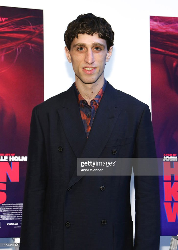 Buddy Duress arrives to the 'Heaven Knows What' New York Premiere at the Celeste Bartos Theater at the Museum of Modern Art on May 18, 2015 in New York City.