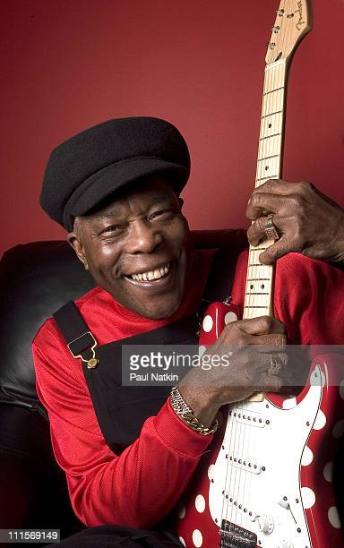 Buddy Guy during Buddy Guy in Concert January 12 2005 at Legand's in Chicago Illinois United States