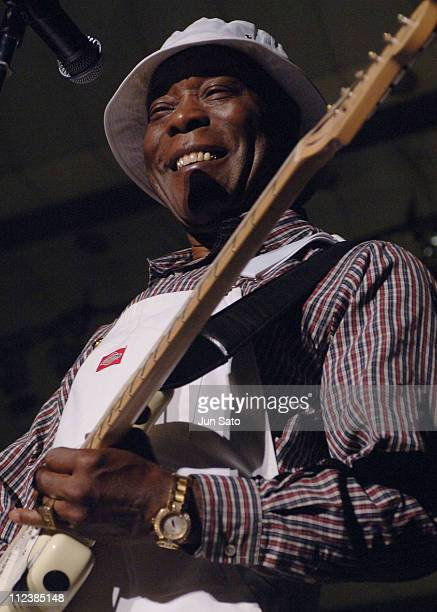 Buddy Guy during Buddy Guy Performs at Japan Blues Carnival at Hibiya Outdoor Auditorium in Tokyo Japan
