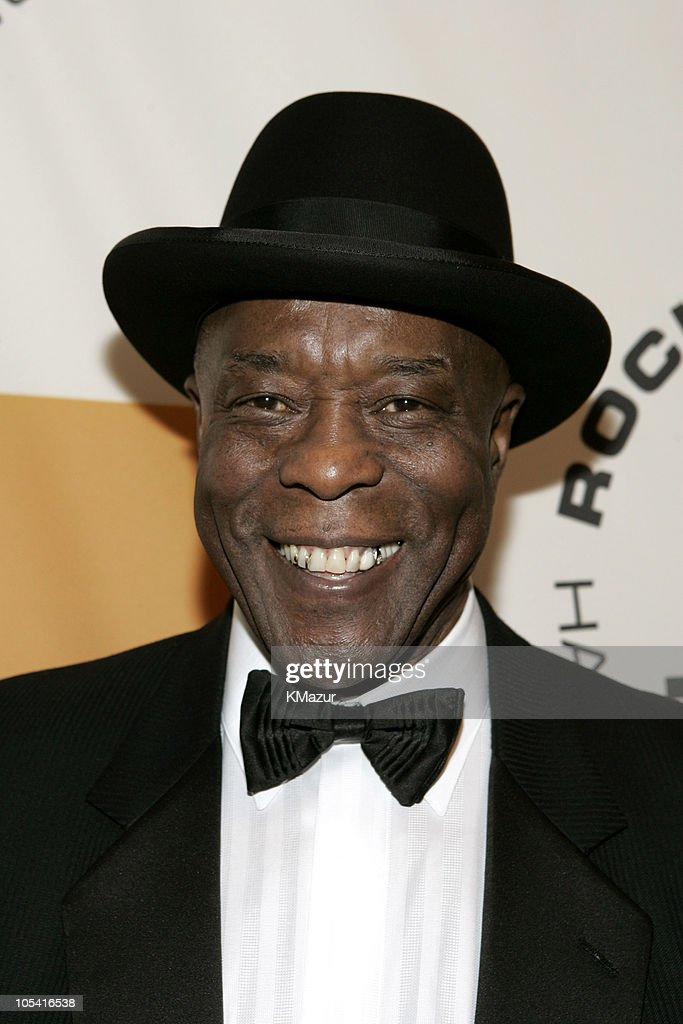 <a gi-track='captionPersonalityLinkClicked' href=/galleries/search?phrase=Buddy+Guy&family=editorial&specificpeople=215438 ng-click='$event.stopPropagation()'>Buddy Guy</a>, inductee during 20th Annual Rock and Roll Hall of Fame Induction Ceremony - Red Carpet at Waldorf Astoria in New York City, New York, United States.