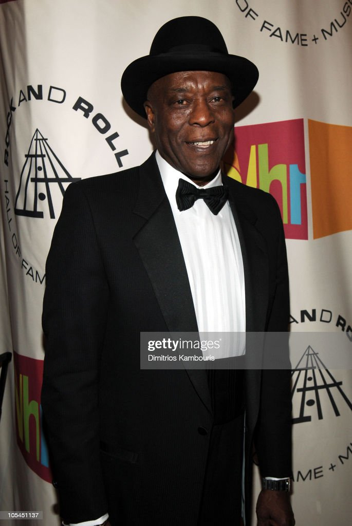 <a gi-track='captionPersonalityLinkClicked' href=/galleries/search?phrase=Buddy+Guy&family=editorial&specificpeople=215438 ng-click='$event.stopPropagation()'>Buddy Guy</a>, inductee during 20th Annual Rock and Roll Hall of Fame Induction Ceremony - Arrivals at Waldorf Astoria in New York City, New York, United States.
