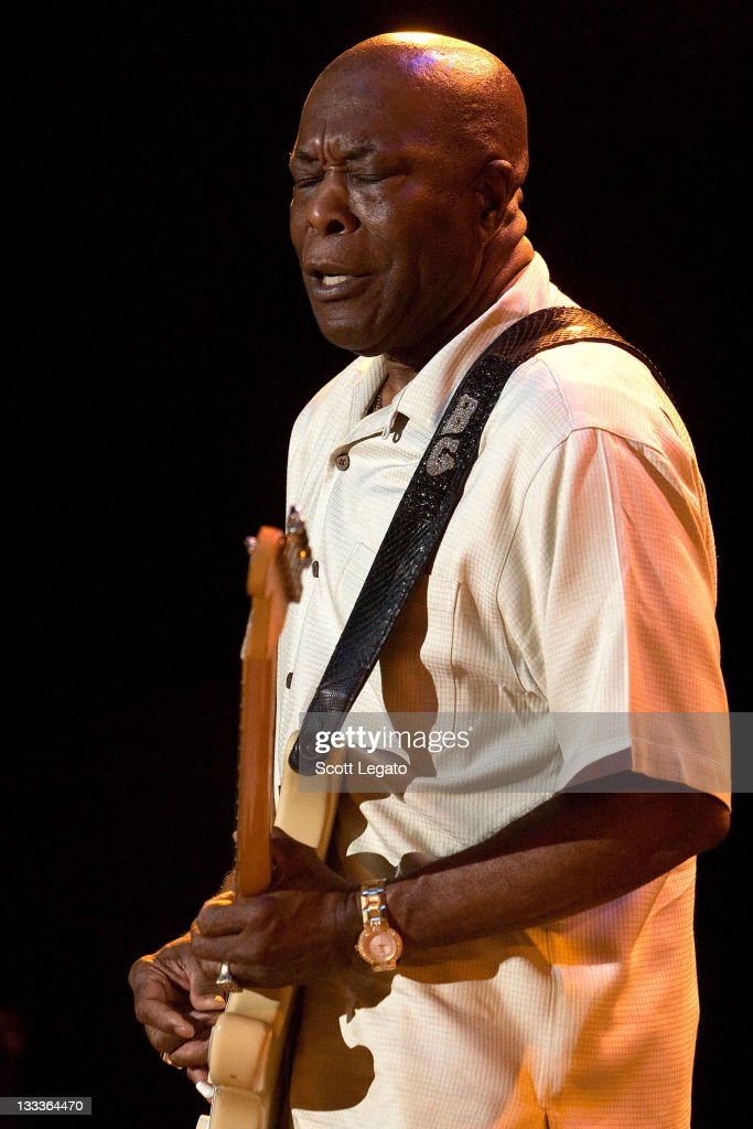 Buddy Guy performs at the Chastain Park Amphitheater on June 24, 2009 in Atlanta, Georgia.