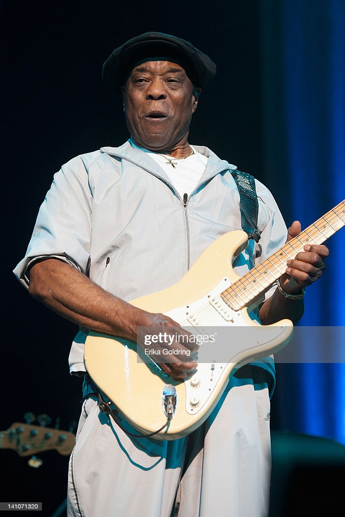 <a gi-track='captionPersonalityLinkClicked' href=/galleries/search?phrase=Buddy+Guy&family=editorial&specificpeople=215438 ng-click='$event.stopPropagation()'>Buddy Guy</a> performs during the Experience Hendrix Tour at the Tennessee Performing Arts Center on March 9, 2012 in Nashville, Tennessee.