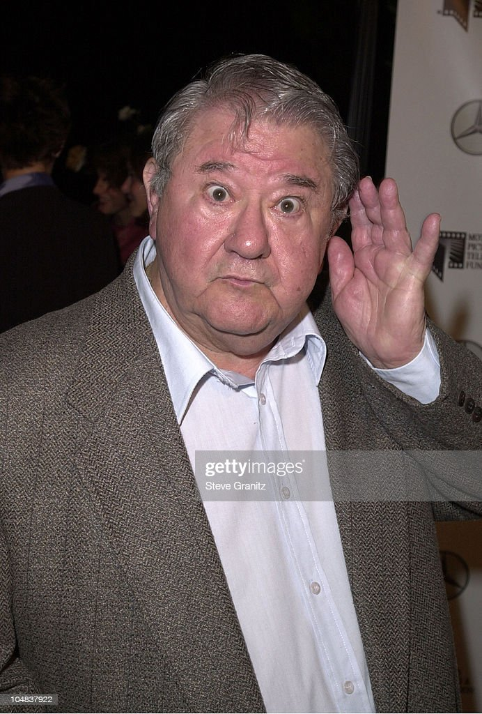 <a gi-track='captionPersonalityLinkClicked' href=/galleries/search?phrase=Buddy+Hackett&family=editorial&specificpeople=224801 ng-click='$event.stopPropagation()'>Buddy Hackett</a> during Kevin Spacey Party to the Residents of The Motion Picture & Television Fund's Retirement Community at Private House in Beverly Hills, California, United States.