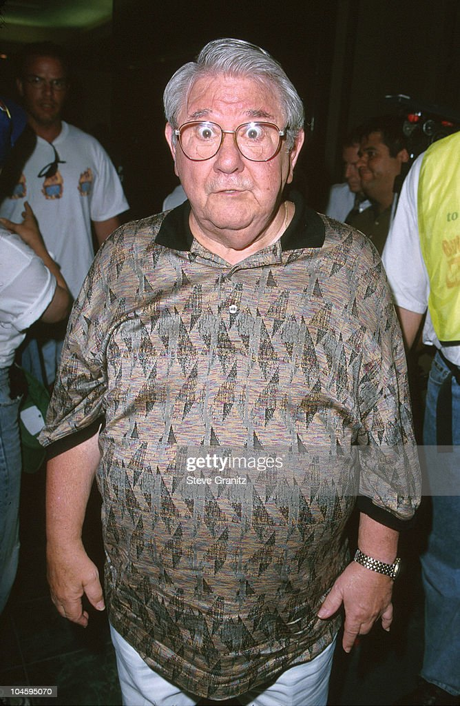 <a gi-track='captionPersonalityLinkClicked' href=/galleries/search?phrase=Buddy+Hackett&family=editorial&specificpeople=224801 ng-click='$event.stopPropagation()'>Buddy Hackett</a> during Press Conference - SAG/AFTRA Personalities State Their Support for the 7-Week-Old Strike Against the Advertising Industry at Screen Actors Guild in Beverly Hills, California, United States.