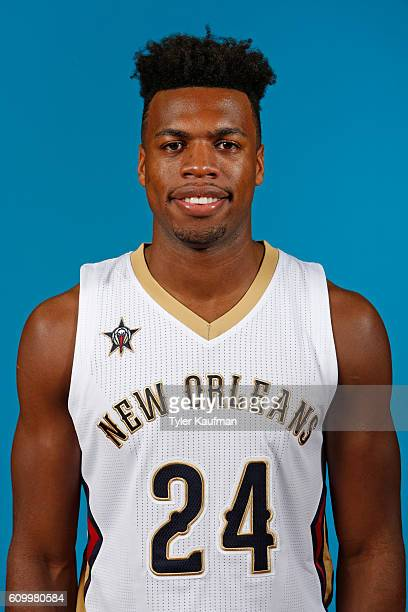 Buddy Hield of the New Orleans Pelicans poses for a head shot during the 20162017 NBA Media Day on September 23 2016 at the Smoothie King Center in...