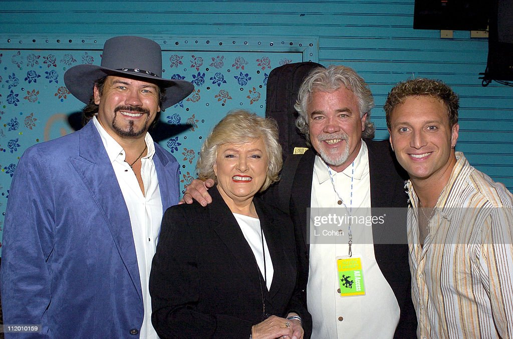 Buddy Jewell, Frances W. Preston (President and CEO of BMI), Gary Morris and Tim Rushlow