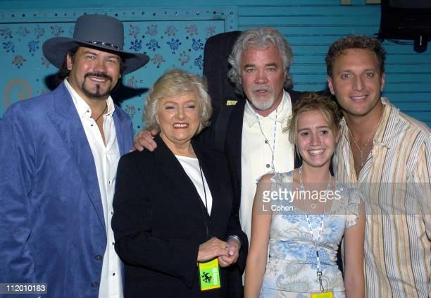 Buddy Jewell Frances W Preston Gary Morris and Tim Rushlow with Jessica Benton