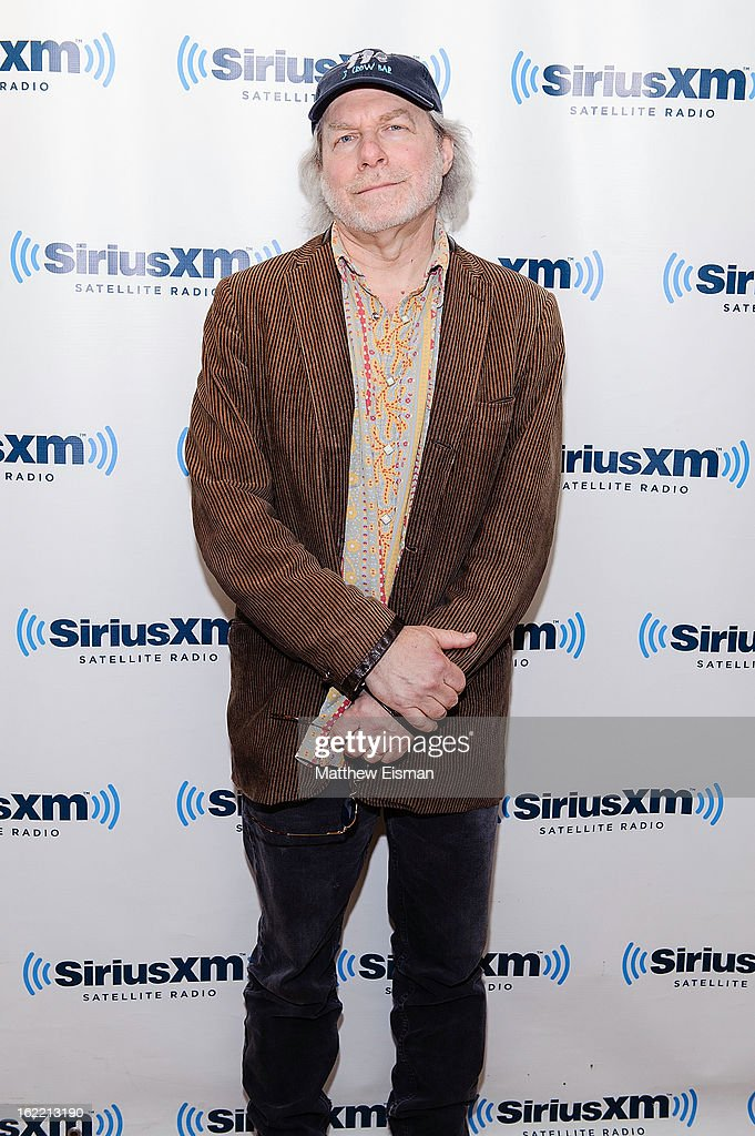 Buddy Miller, co-host of 'The Buddy & Jim Show' on Outlaw Country, in the SiriusXM Studios on February 20, 2013 in New York City.