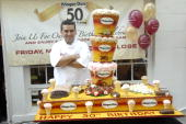 Buddy Valastro attends HaagenDazs ice cream's 50th birthday celebration at the HaagenDazs Flagship Shop on May 14 2010 in the Brooklyn borough of New...